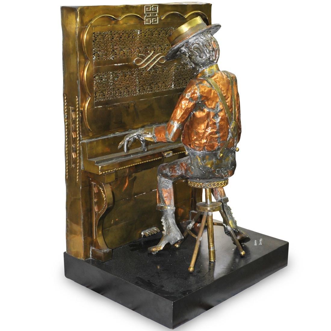 Leonard Bernstein Copper Sculpture