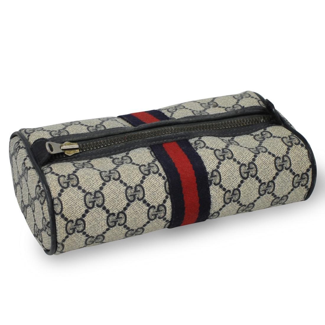 Gucci Monogram Canvas Travel Bag