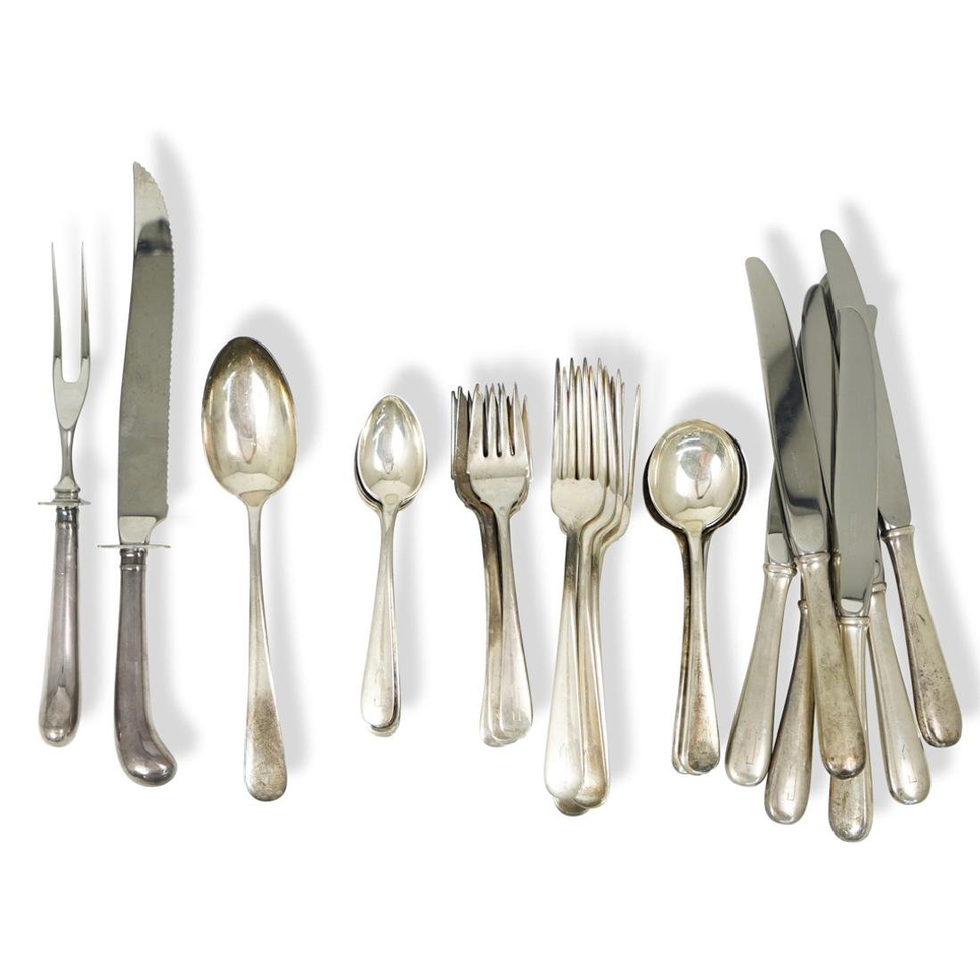 (33 pc) Kirk and Sons Sterling Flatware