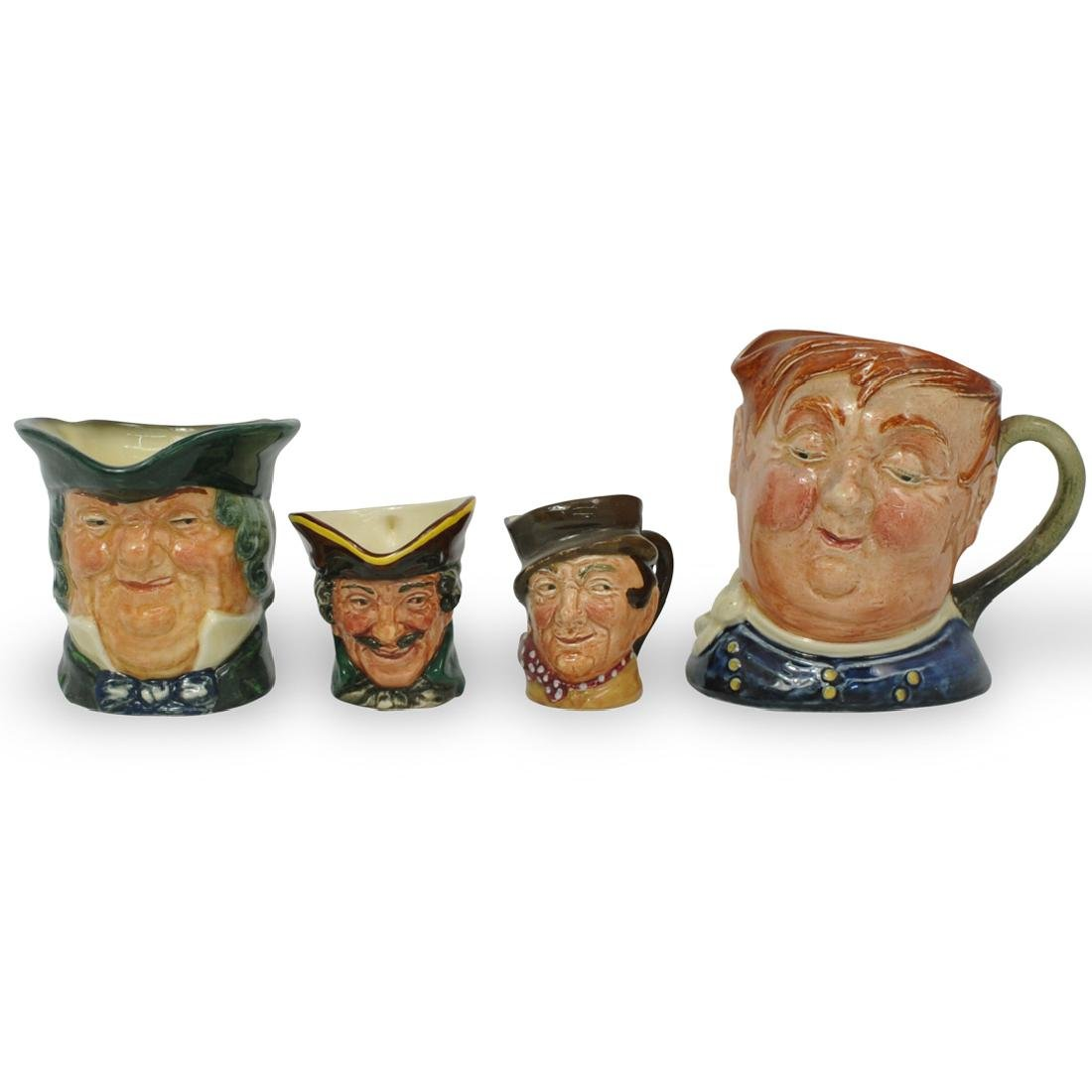 (4 Pc) Royal Doulton Toby Jugs