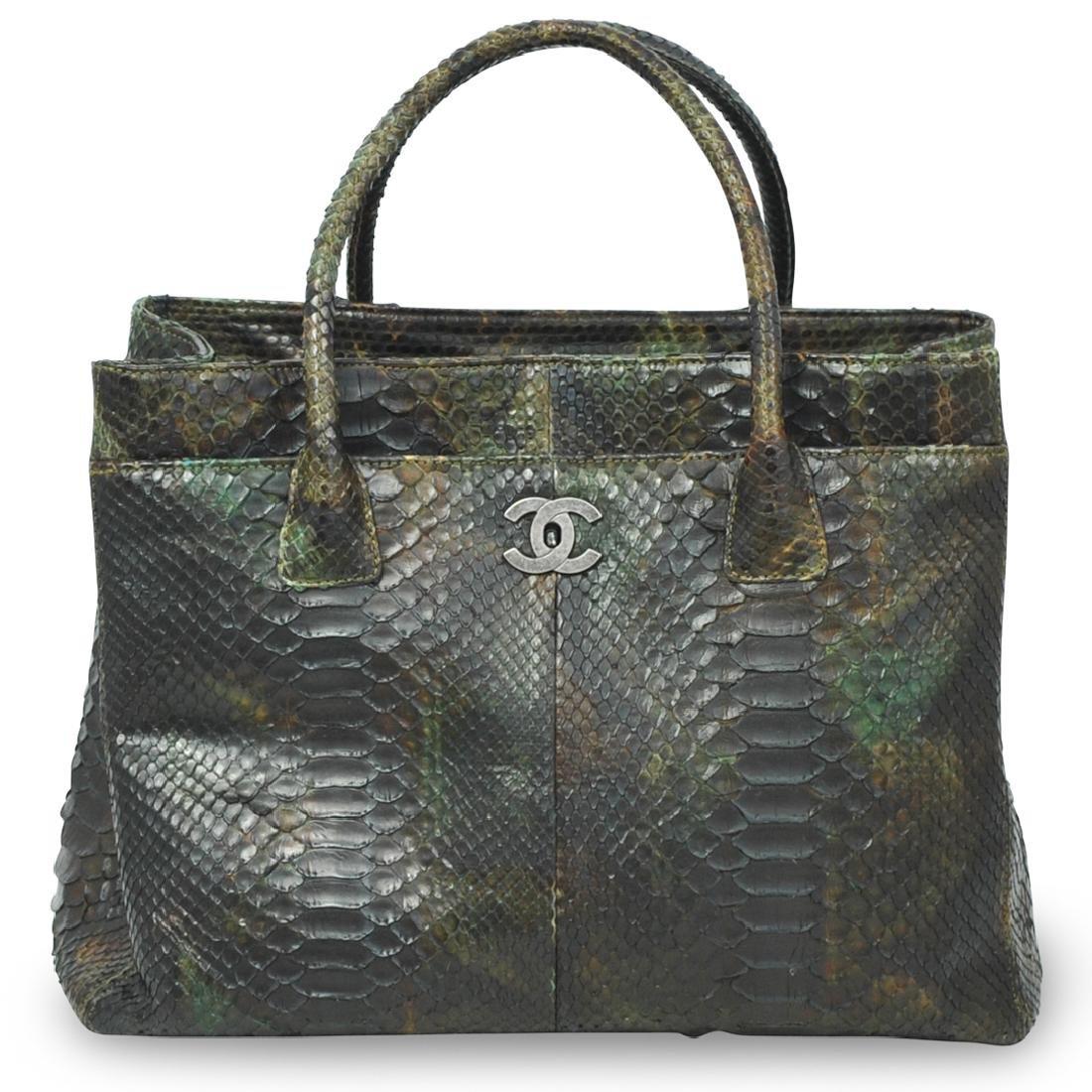 Chanel Python Bag