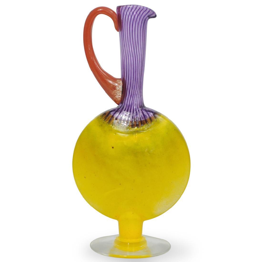 Kosta Boda Art Glass Pitcher