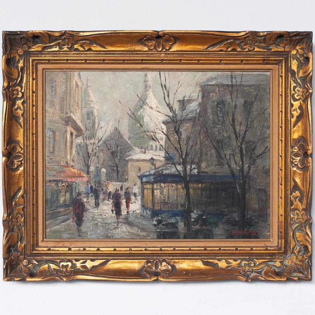 Jean-Dominique Van Caulaert (French. 1897-1979) Oil on