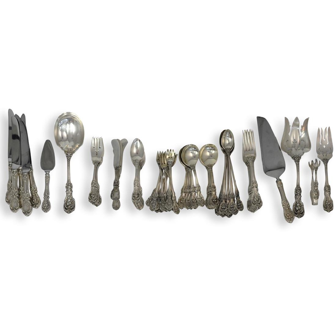 (111 Pc) Reed and Barton Sterling Silver Dinner Service