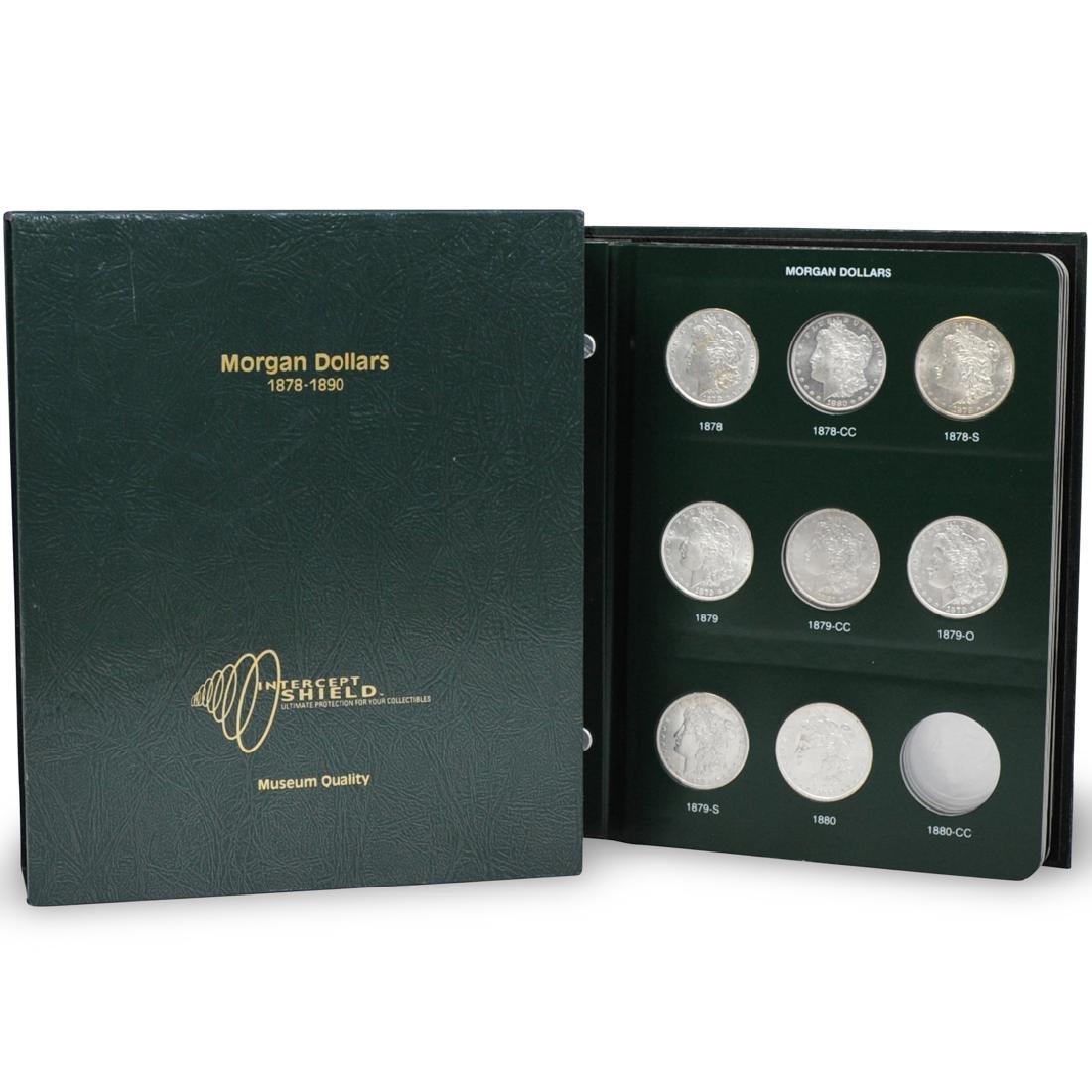(23 Pc) 1880s United States Silver Morgan Dollars