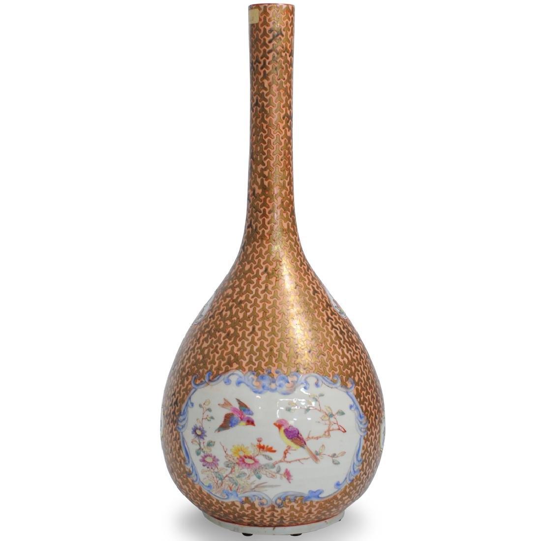 Chinese Porcelain Long Neck Vase