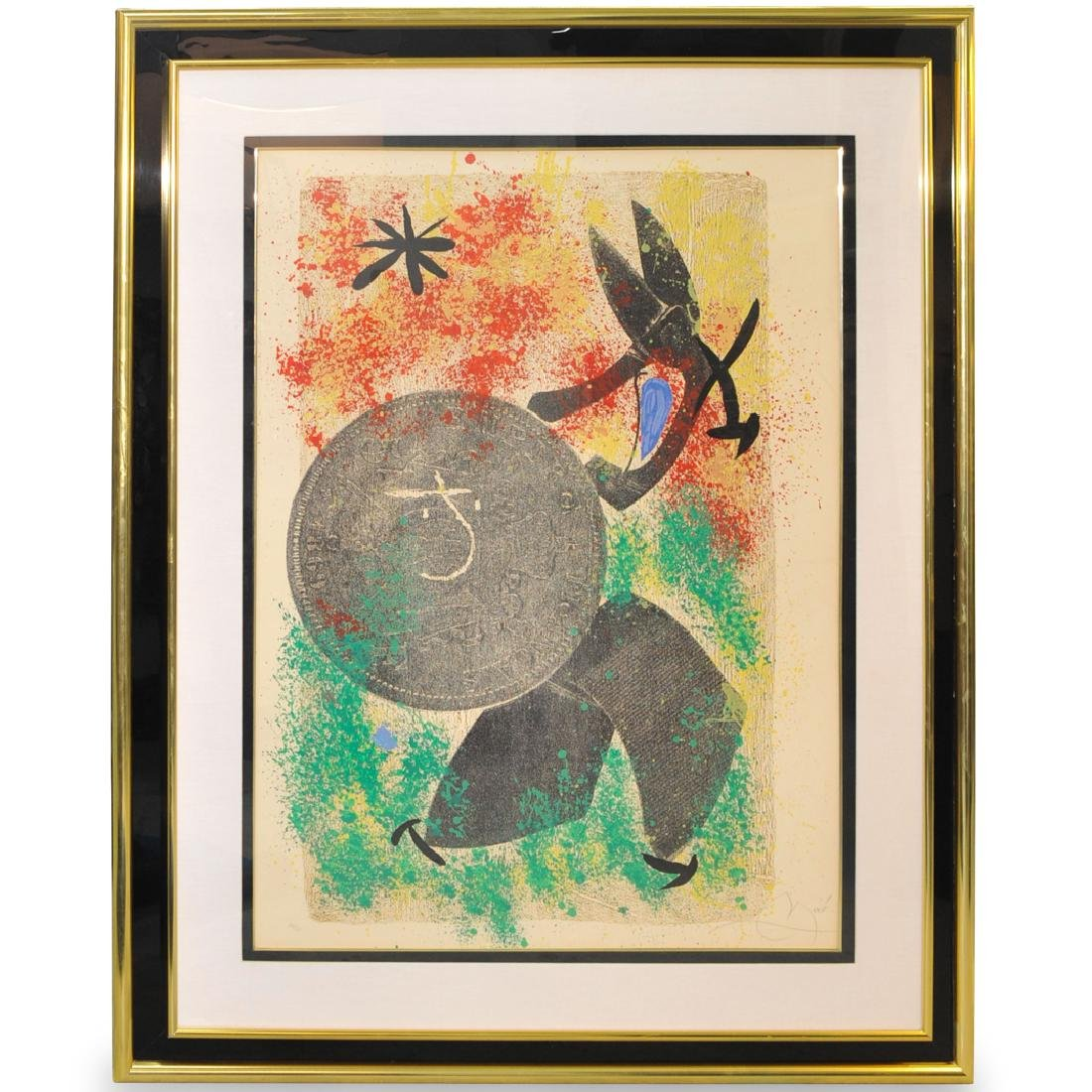 Joan Miro (Spanish, 1893-1983) Color Lithograph