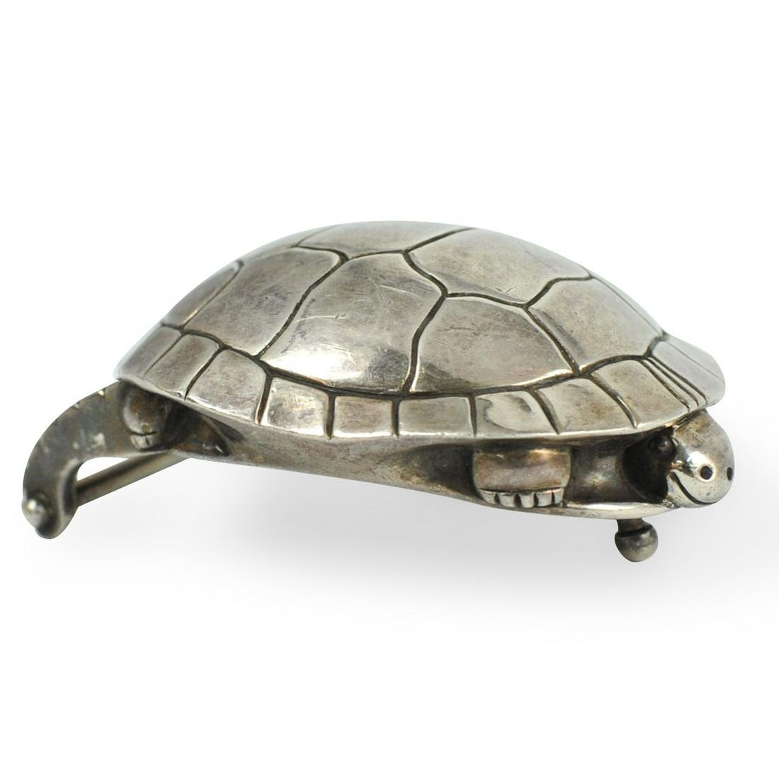Barry Kieselstein Cord Sterling Turtle Buckle