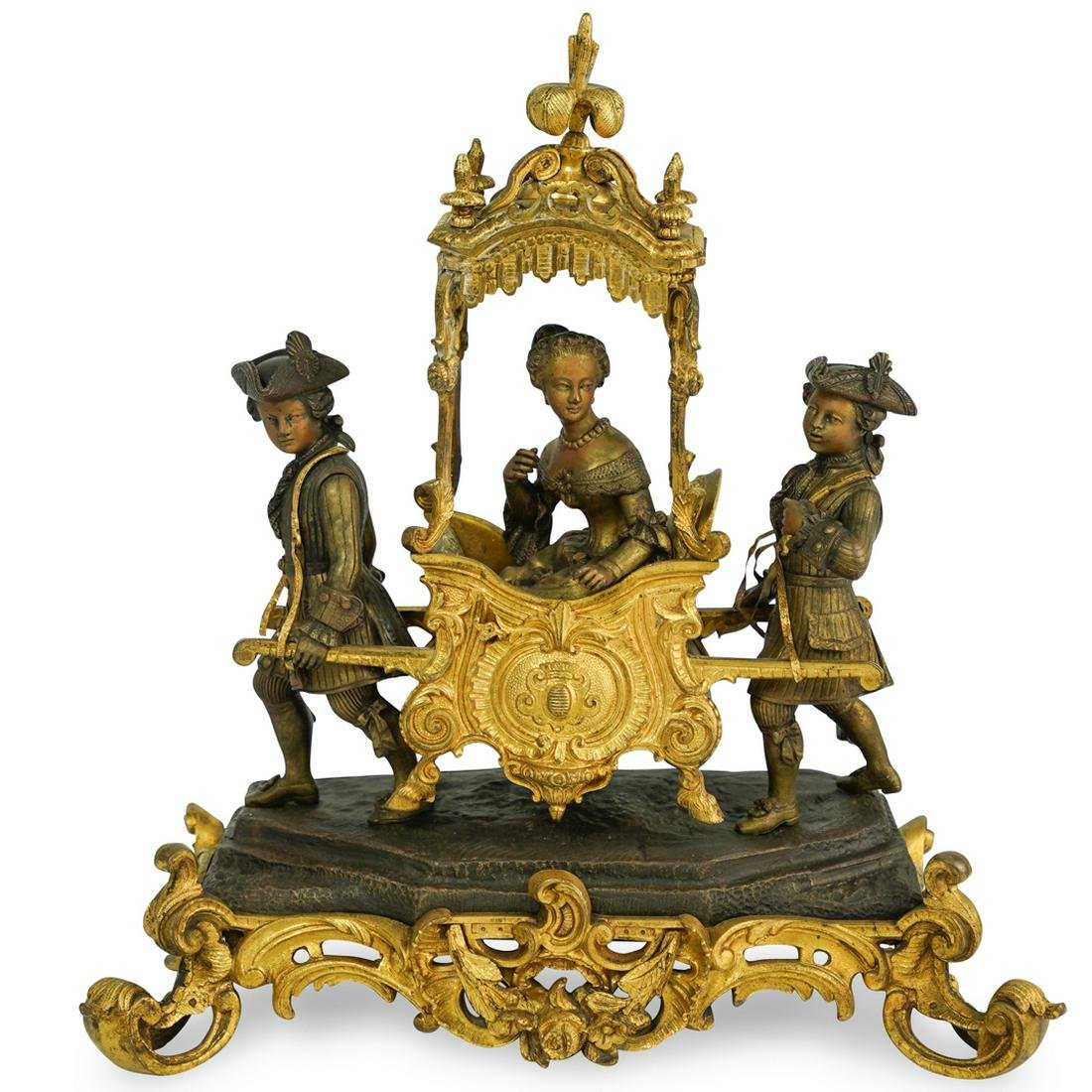 French Bronze Figural Group