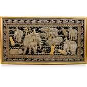 Thai Hand Beaded Tapestry