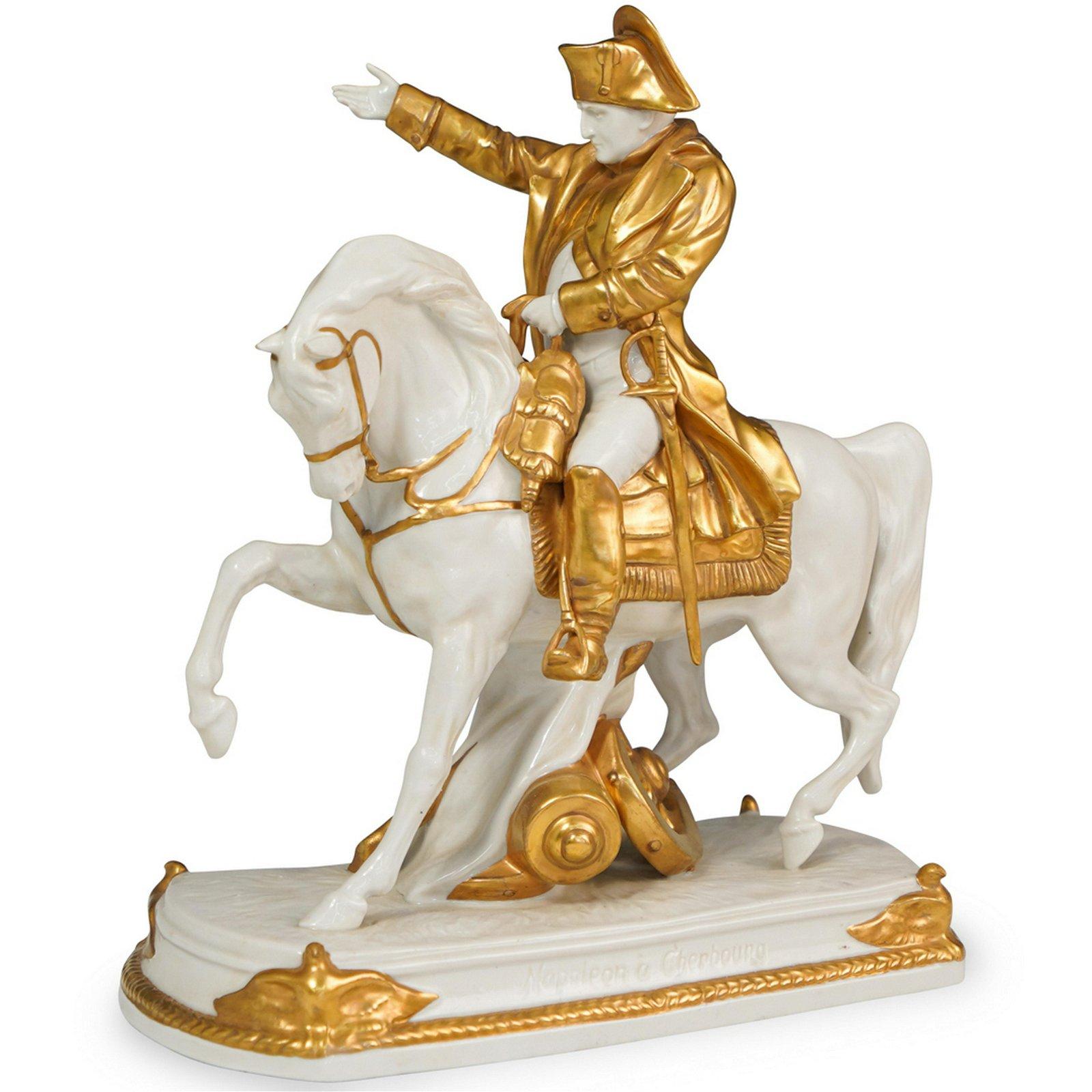 Antique Sitzendorf Napoleon Figurine