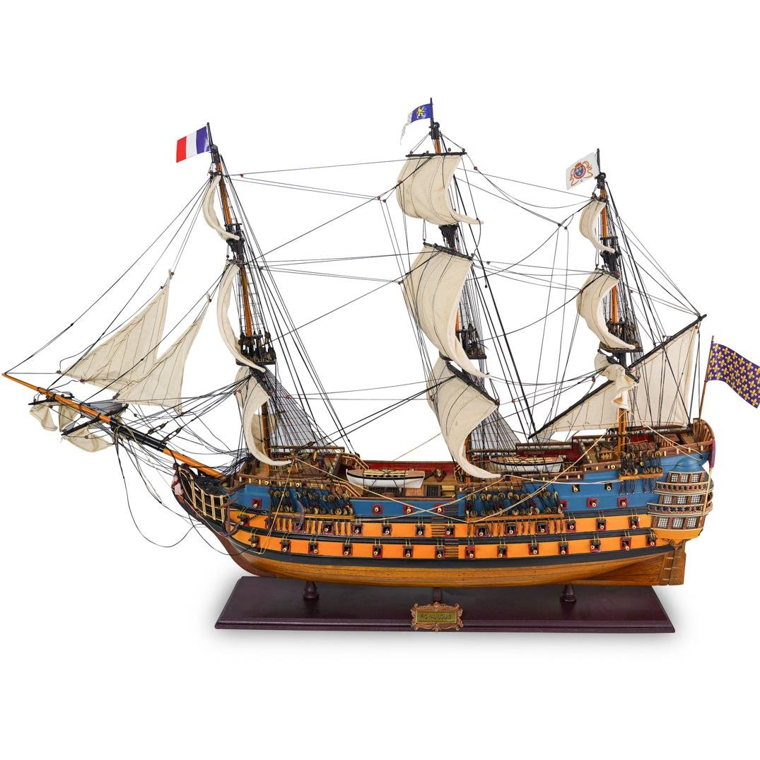Royal Louis Wooden Ship Model