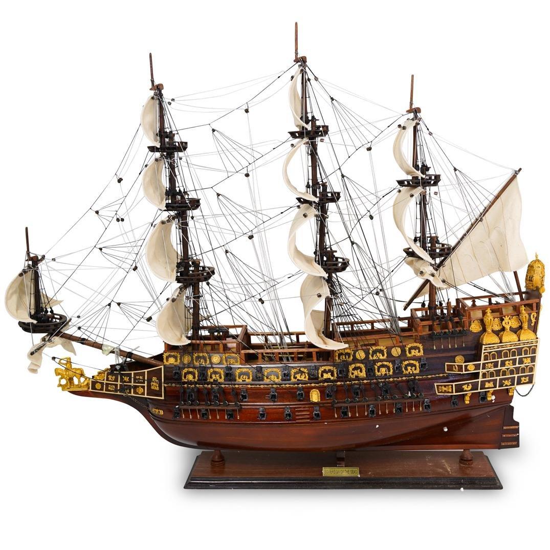Sovereign of the Seas Wooden Ship Model