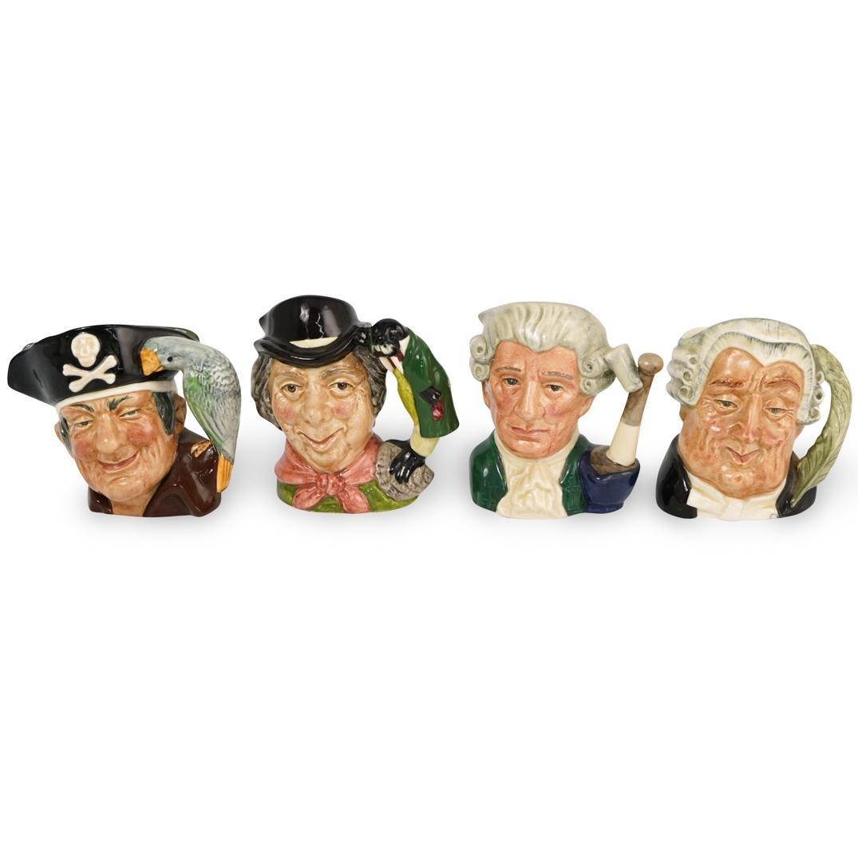 (4 Pc) Royal Doulton Character Mugs