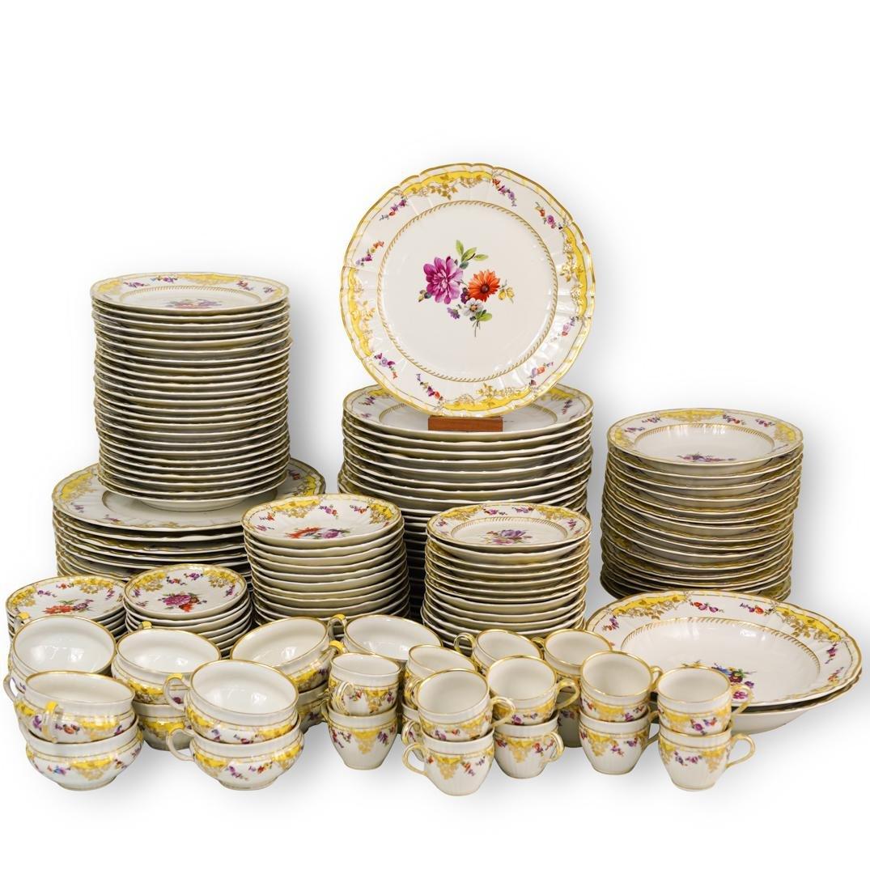 (188 Pc) Imperial KPM Porcelain Dinner Service