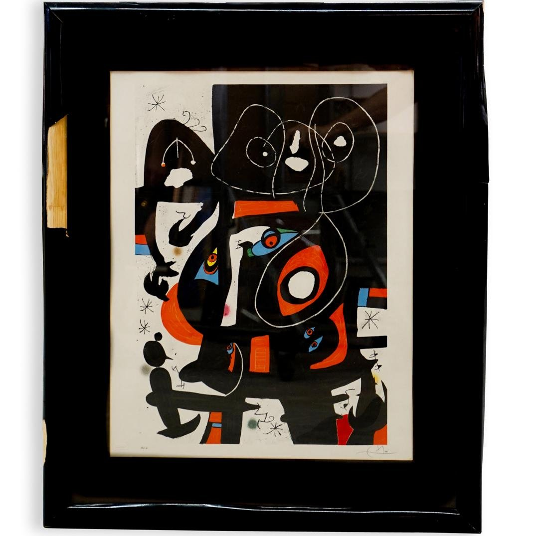 Joan Miro Signed Hors Commerce Lithograph