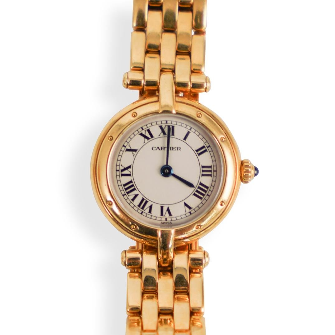 Cartier Panthere Vendome 18k Gold Watch