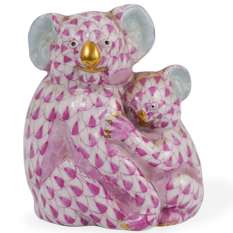 Herend Porcelain Koala Group