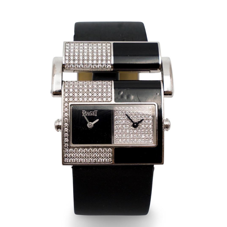 Piaget Miss Protocole XL 18k and Diamond Watch