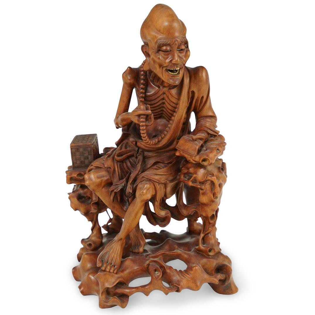 Chinese Huangyang Wood Carving