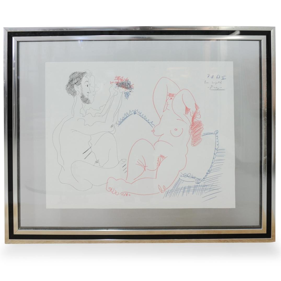 Pablo Picasso (1882-1973) Erotic Sketch