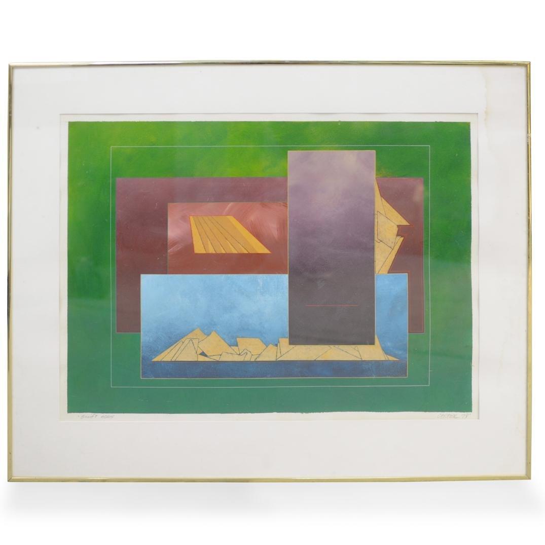 Richard Carter (American Born 1946) Lithograph