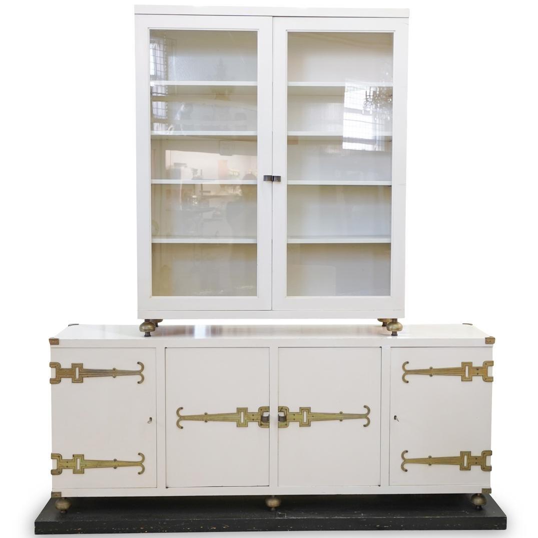 Tommi Parzinger Breakfront Cabinet