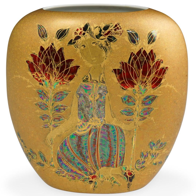 Rosenthal Bjorn Wiinblad Porcelain Vase