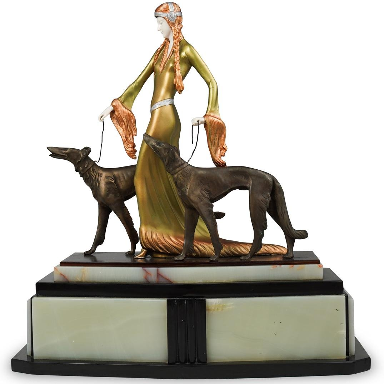Otto Poertzel (German,1876-1963) Bronze