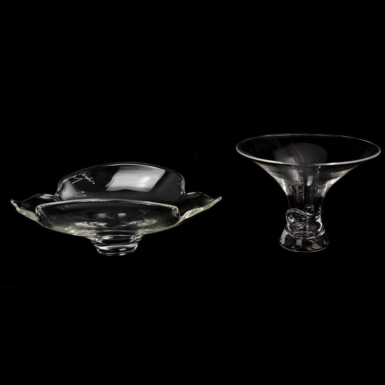 (2 Pc) Steuben Crystal Bowls