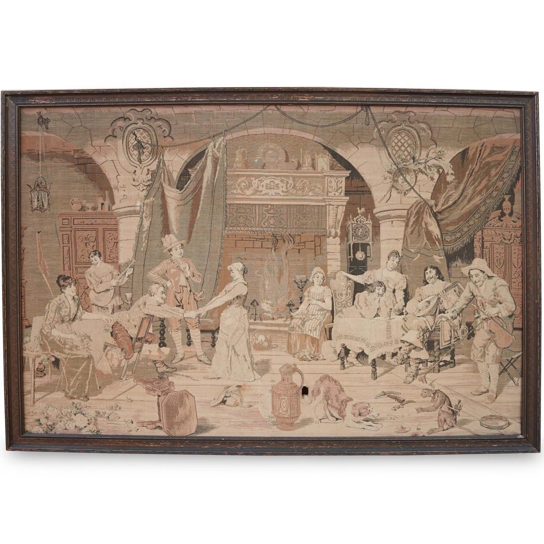 19th Cent. Aubusson TapestryÂ