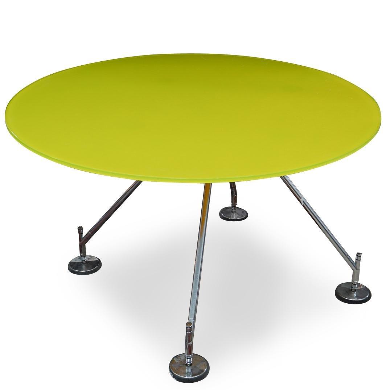 Norman Foster x Nomos Tecno Green Glass Table