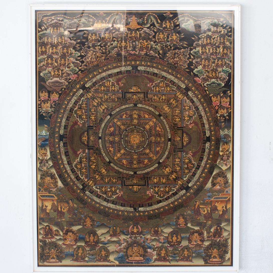Tibetan Thangka PaintingÂ