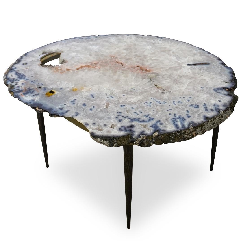 Quartz Geode Coffee Table