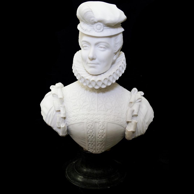 Antique J. Arduino Marble Bust