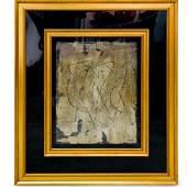Pierre Brisson (b. 1955) Mixed Media on Canvas