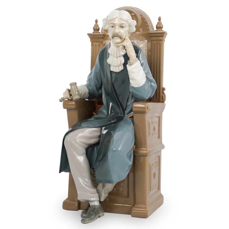 "Lladro Limited Edition ""Judge"" Figurine"