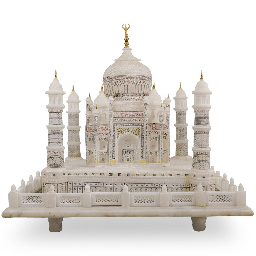 Large Marble Taj Mahal Sculpture
