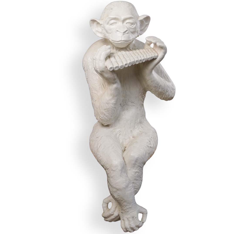 Life-Size Decorative Porcelain Monkey