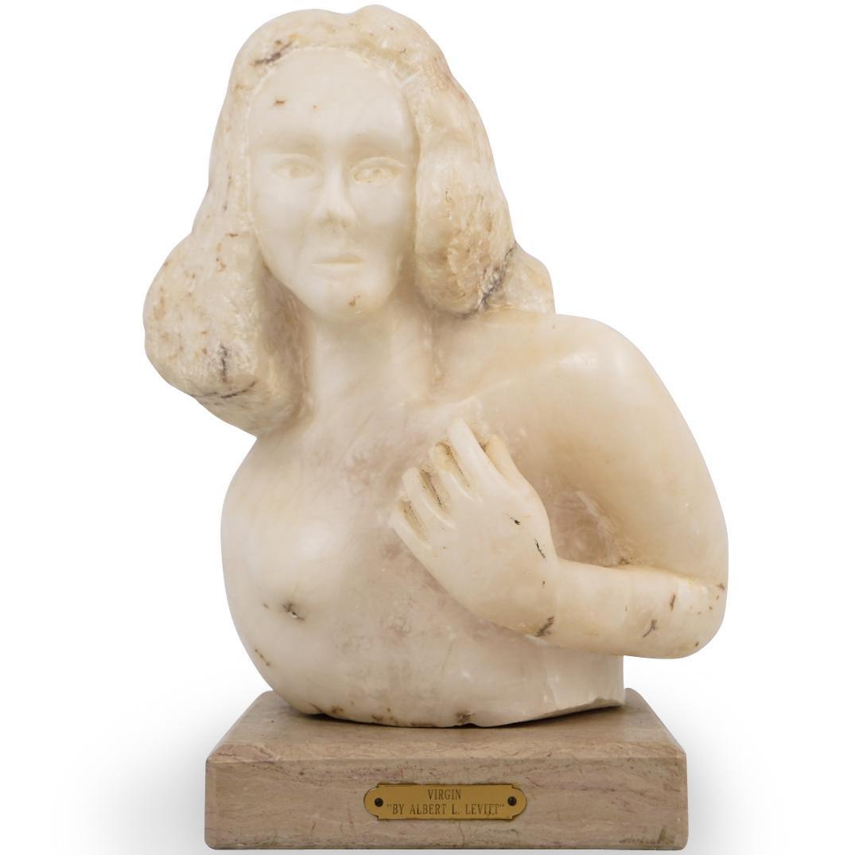 """""""Virgin"""" Bust By Albert L Levitt"""