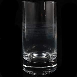 Modern Design Crystal Cylindrical Vase