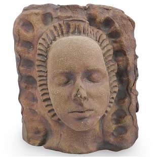 Ceramic Double Faced Sculpture