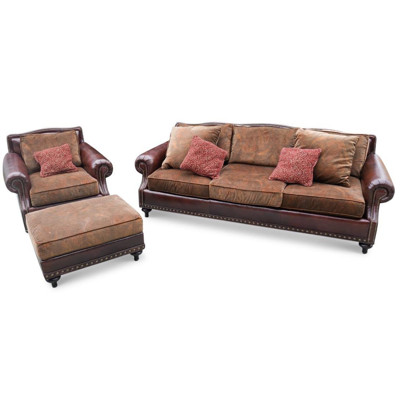 Ralph Lauren Leather Sofa Set