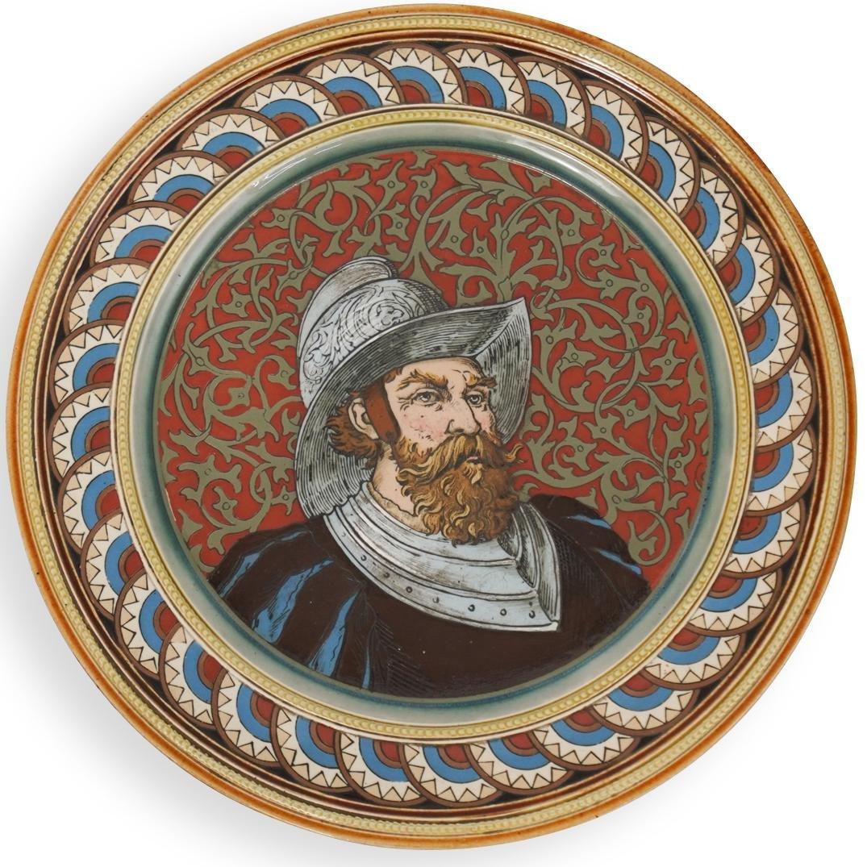 Villeroy & Boch Mettlach Portrait Plate