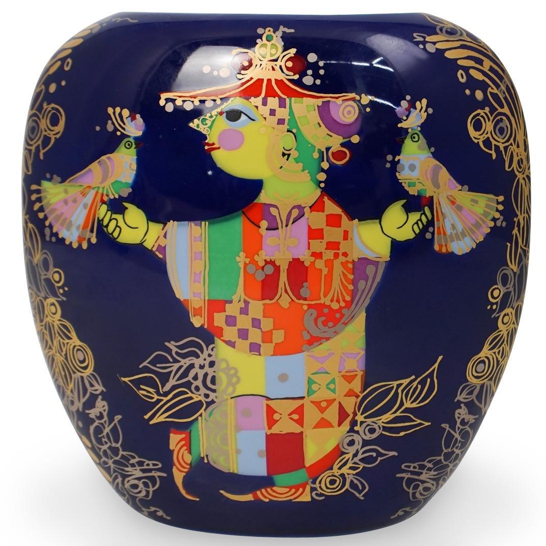 Rosenthal Studio Linie Bjorn Wiinblad Porcelain Vase