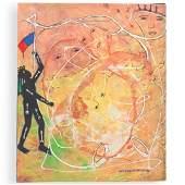 Stivenson Magloire (Haitian 1963-1994) Oil On Canvas