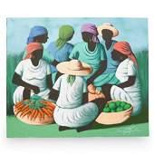 Raymond Lafaille (Haitian) Oil On Canvas