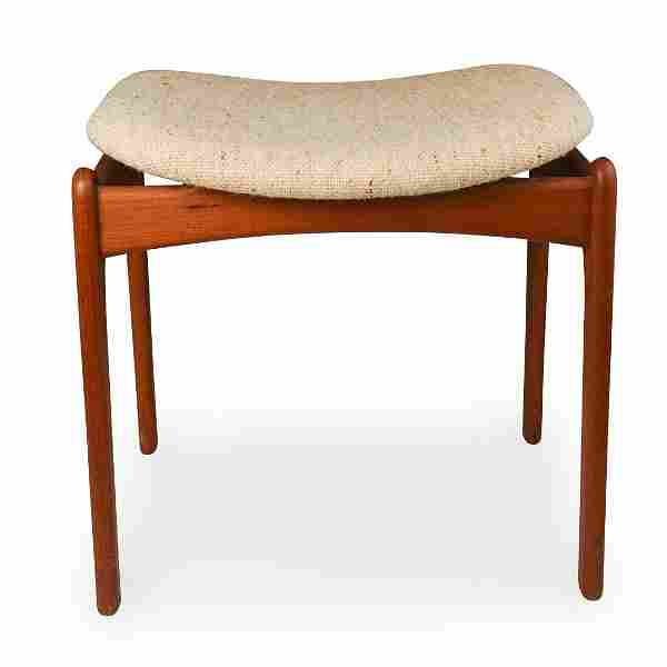 O.D Mobler Danish Teak Vanity Bench