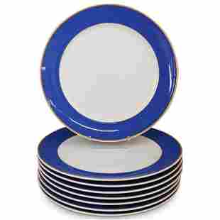 "(8 Pcs) Rosenthal Versace ""Color Collection Blue"""