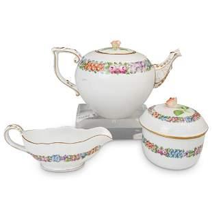 """Herend """"Garland"""" Porcelain Tea Set"""